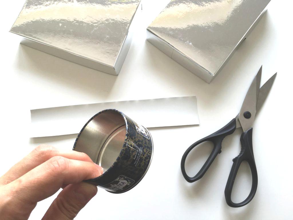 Eine Metalldose bildet das Objektiv der Kamera