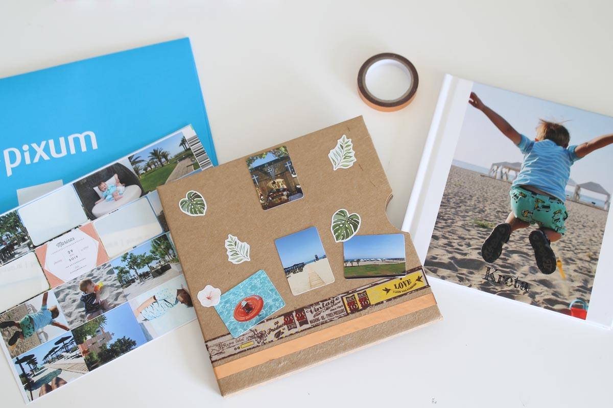 Den Schuber kannst du thematisch deinen Fotobuch anpassen.