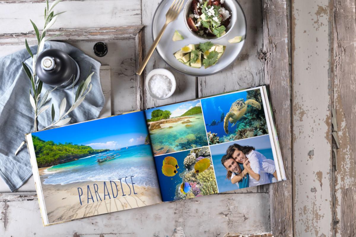 Pixum Fotobuch mit Südseemotiven
