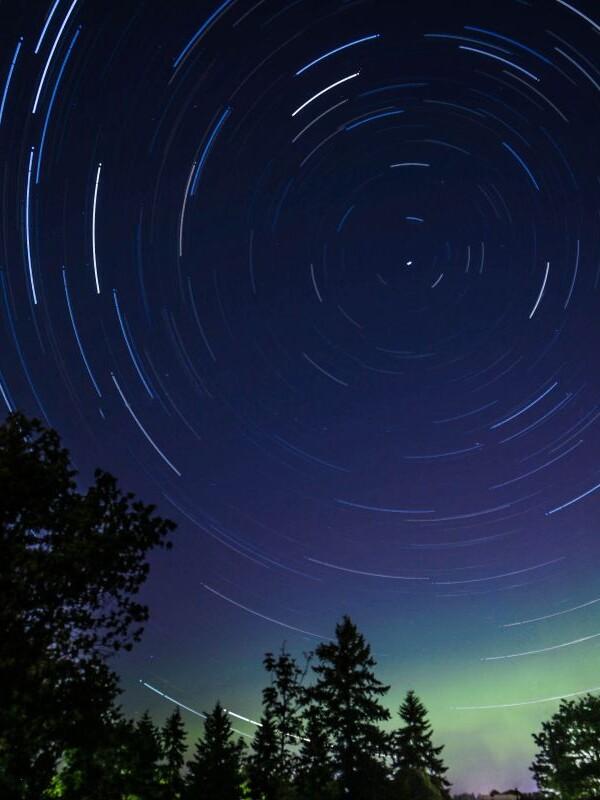 Sternenhimmel Langzeitbelichtung
