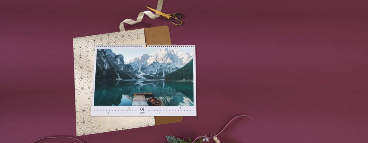 Pixum Fotokalender mit Geschenkverpackung