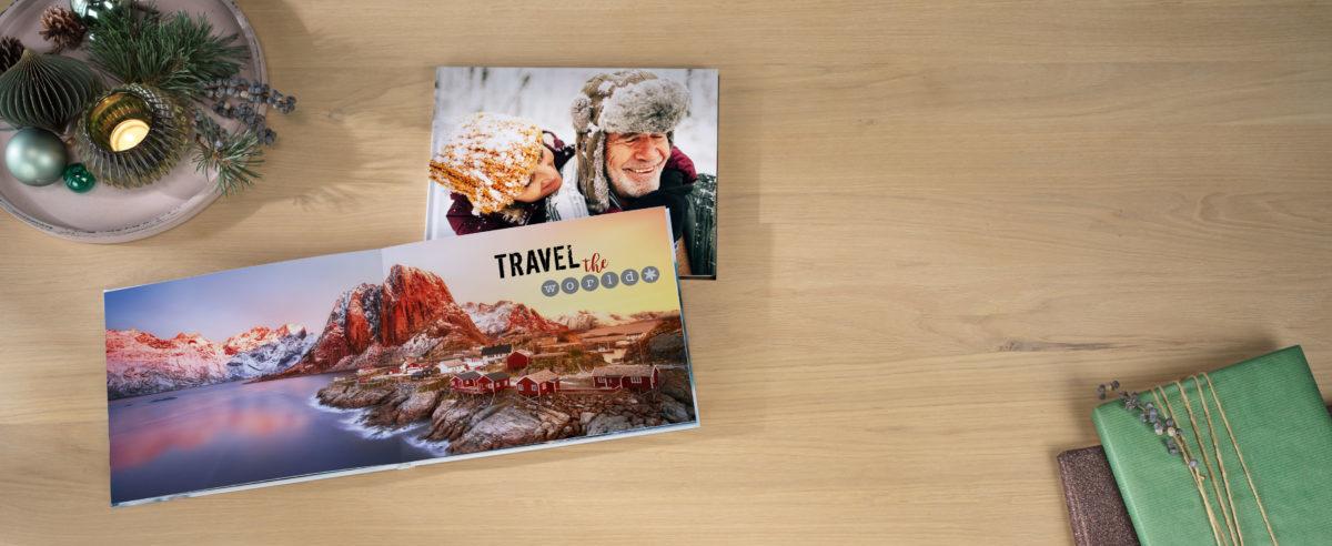 Pixum Fotobuch mit Panoramafoto über zwei Seiten
