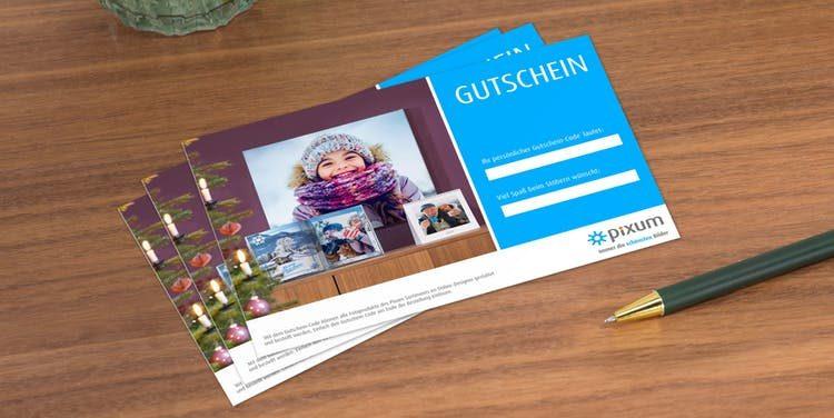 Last Minute Weihnachtsgeschenk Pixum Geschenkgutschein