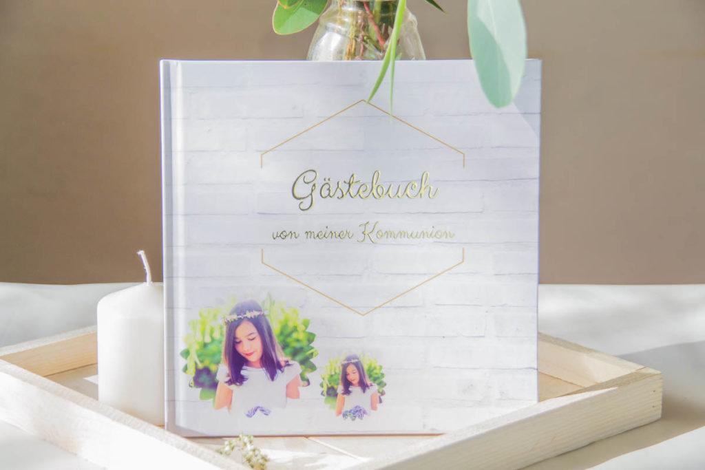 Gästebuch zur Konfirmation Kommunion selber gestalten