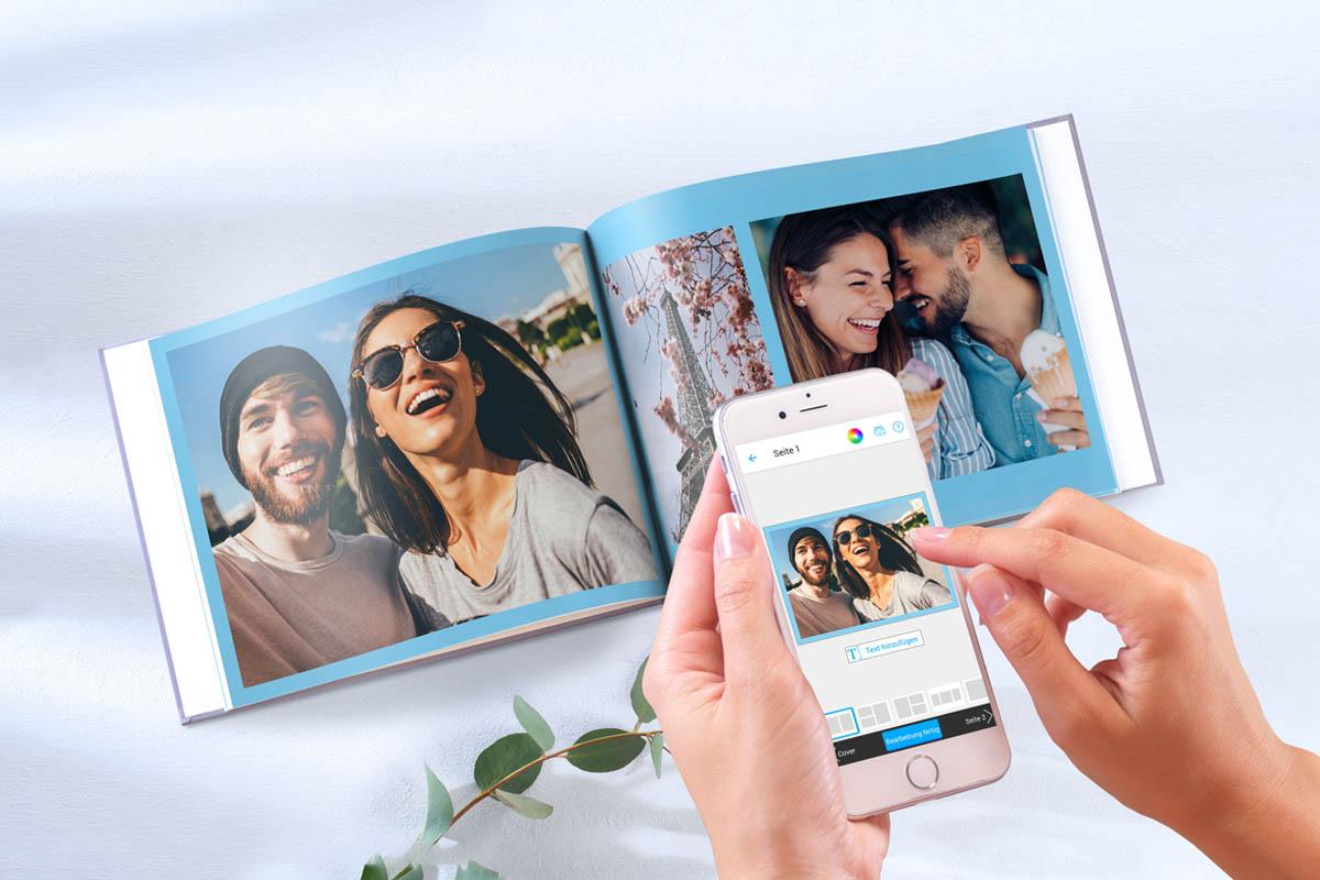 Fotobuch-Erstellung mit der Pixum App