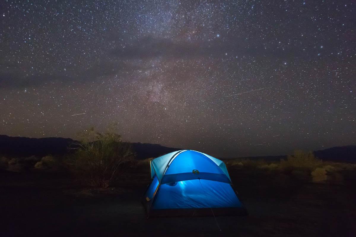 Sternenhimmel Zelt