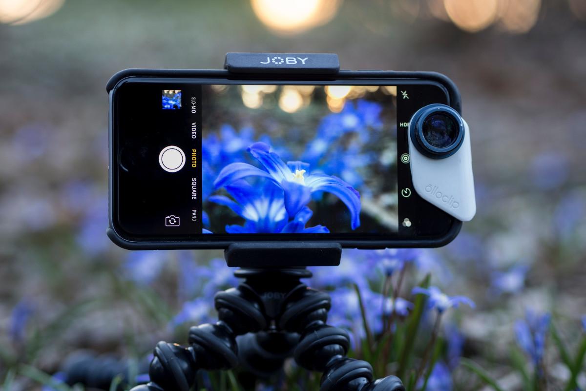 Smartphone Stativ für Makrofotos