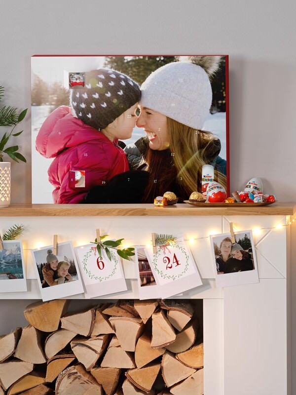 DIY-Adventskalender mit Fotos
