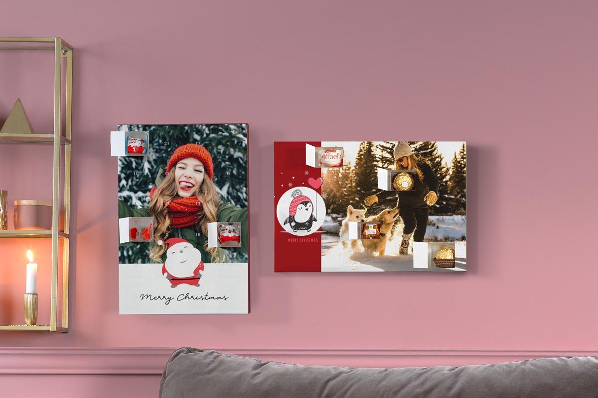 Personalisierte Adventskalender mit Foto