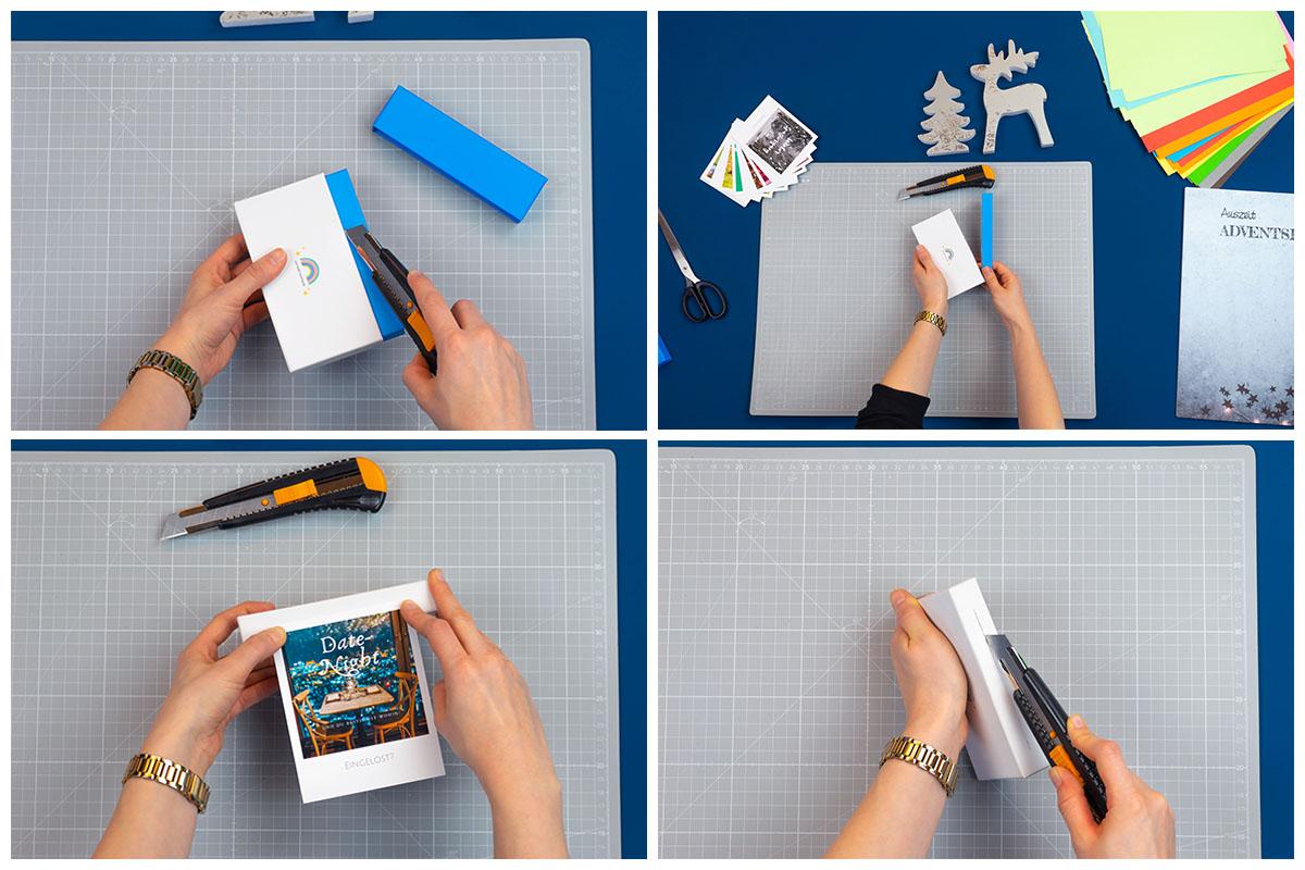 Kamera für den DIY-Adventskalender vorbereiten | Bastelschritt 1